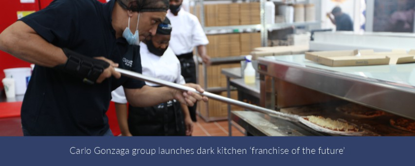 Carlo Gonzaga group launches dark kitchen 'franchise of the future'