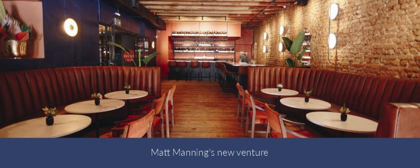 Matt Manning's new venture