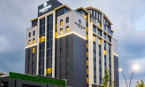 New Courtyard Hotel Waterfall City is green and keen to welcome guests!